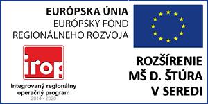 Rozšírenie MŠ D. Štúra v Seredi