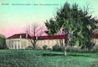Pohľad na Klasicistický kaštieľ- historická pohľadnica